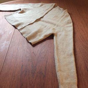 Miu miu cropped cashmere cardigan
